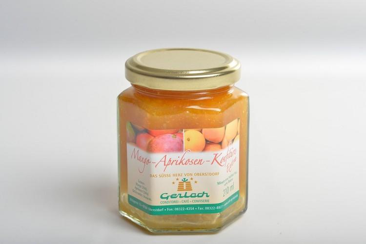 """Mango-Aprikosen-Konfitüre """"Extra"""""""